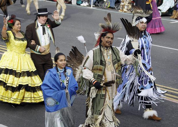 Actors from the Ramona Pageant in Hemet appeared 2013 Tournament of Roses Parade in Pasadena. Performers from the play will participate in the 2018 parade on New Year's Day.AP file photo