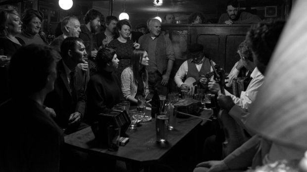 """Song of Granite"" at the pub."