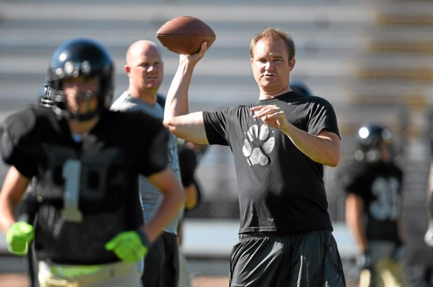Casey Clausen will be Alemany's next football coach after four seasons of turning Calabasas into an area power. (Photo by Hans Gutknecht/Los Angeles Daily News)