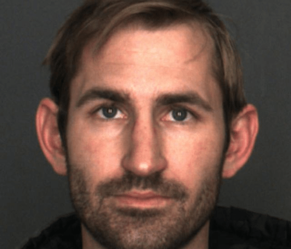 Fontana Police arrested Bryce Auten, 31, of Lake Arrowhead in connection to a dozen bank robberies in San Bernardino and Riverside counties. (Courtesy Fontana Police Department)