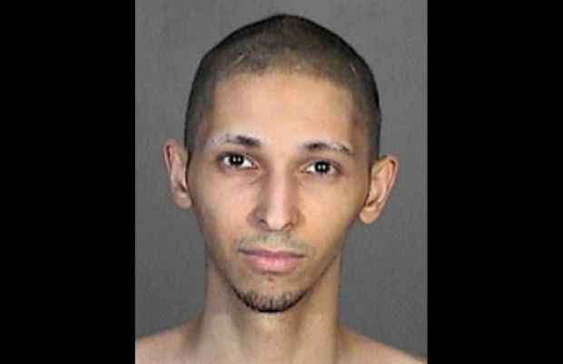 """Tyler Raj Barriss, 25, of South Los Angeles, is suspected of initiating a """"swatting"""" call that led to the officer-involved-shooting death of a man in Wichita, Kansas. (Booking mug)"""