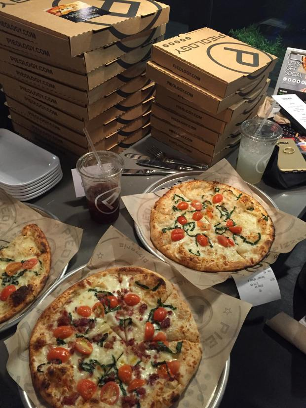 Pielogoy has more than 140 locations across the nation. A new Aliso Viejo restaurant is ground zero for experimenation as the brand evolves within the tough categeory of build your own pizzas. (Courtesy Pieology)