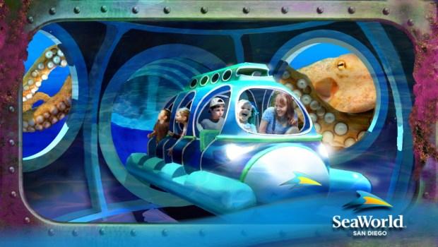 SeaWorld tiene al nuevo Submarine Quest. Cortesía SEA WORLD ENTERTAINMENT, INC