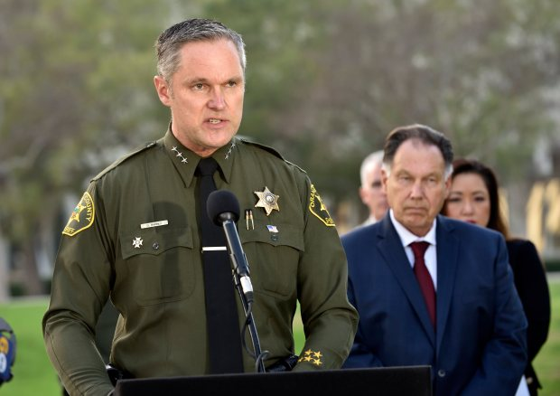 Orange County Undersheriff Don Barnes (File photo by Jeff Gritchen, Orange County Register/SCNG).