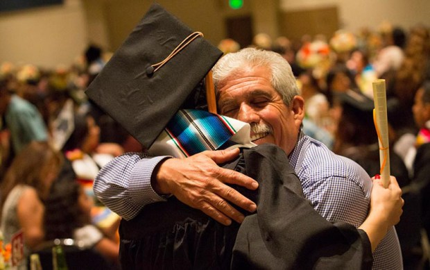Cal State Fullerton had a 57.5 percent graduation rate for Latino students in 2015. (Photo courtesy of Cal State Fullerton)