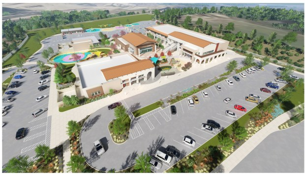 A rendering of Loma Ridge Elementary School, the Irvine Unified School District's newest elementary school scheduled to open in August 2019. (Courtesy of Irvine Unified School District)
