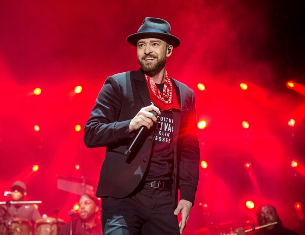 Justin Timberlake will return to perform at the Super Bowl halftime show. (Photo by Amy Harris/Invision/AP, File)