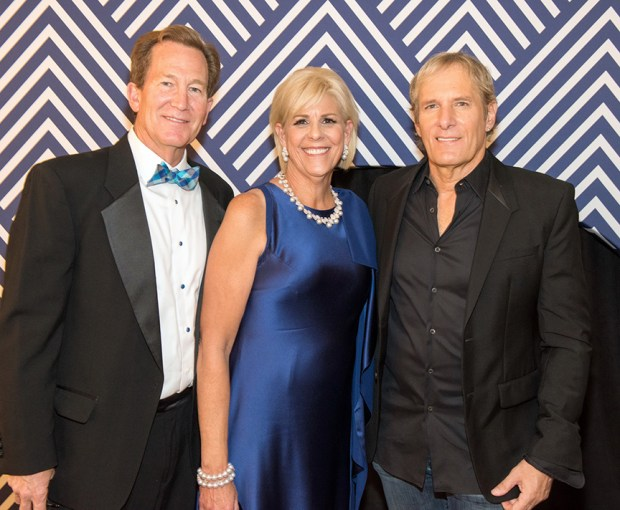 Mark and Carol Perry with Michael Bolton