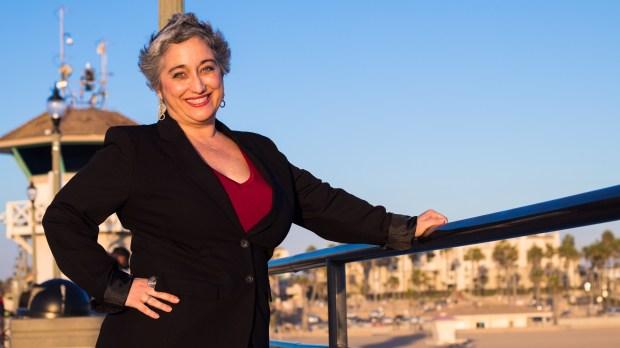 Shayna Lathus, who's running for Huntington Beach City Council. (Photo courtesy of Shayna Lathus)