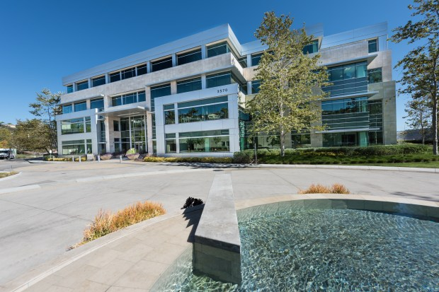Gateway at Torrey Hills is the second office complex the Irvine Co. has purchased in Del Mar Heights in the past four months. (Photo courtesy of the Irvine Co.)