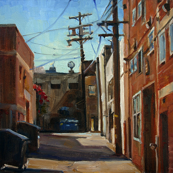 Lisa Mozzini-McDill-Alley Shapes-8x8