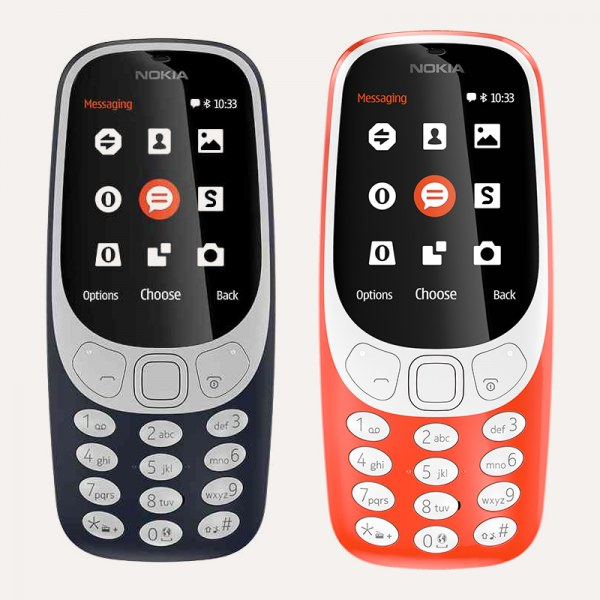 The Nokia 3310 (Photo courtesy Best Buy)