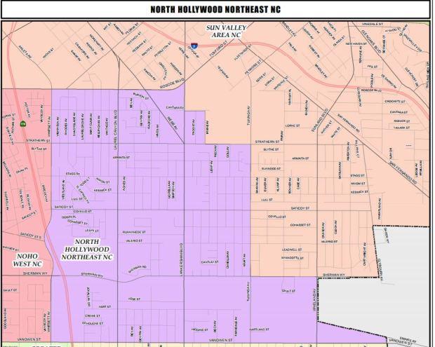 LAPD blocks off Sherman Oaks neighborhood but doesn't find