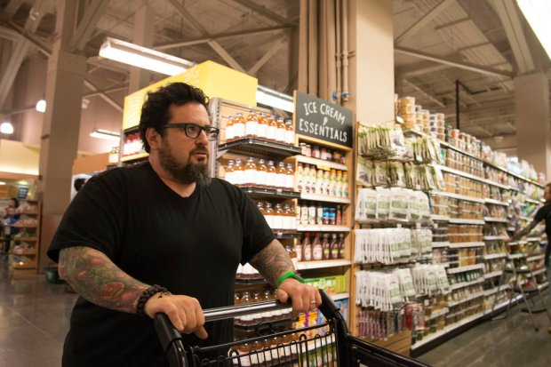 "TOP CHEF -- ""Little Tools, Big Challenge"" Episode 1504 -- Pictured: Bruce Kalman -- (Photo by: Paul Trantow/Bravo)"