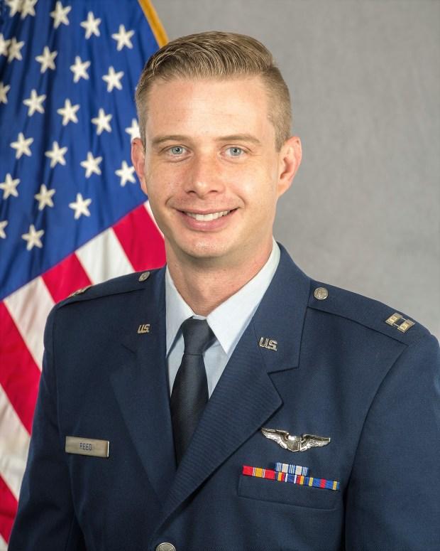 1st Lt Brandon E. Reed (Courtesy of U.S. Air Force)