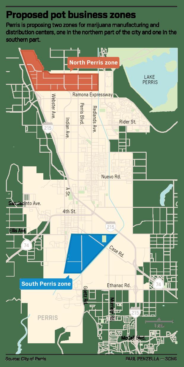 Marijuana Growing Areas California Map.Perris Poised To Designate Zones For Marijuana Manufacturing