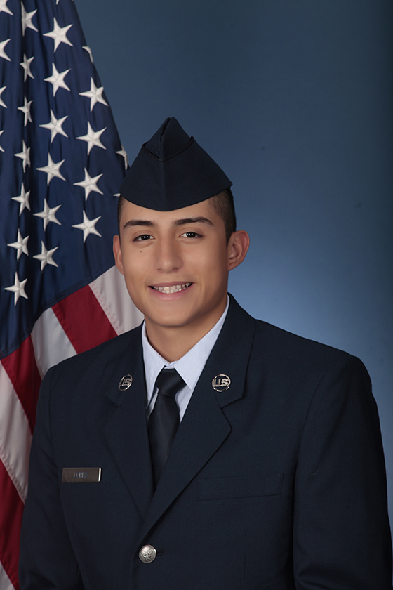 U.S. Air Force Airman Brian D. Lopez (Courtesy photo)