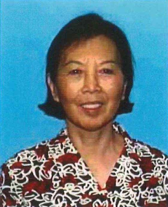 Qing Ru Zhao Mao, 74, of El Monte, was fatally killed in a hit-and-run while crossing Valley Boulevard at Gibson Road in El Monte on Jan. 17, 2016. The case remains unsolved. (Courtesy, El Monte Police Department)