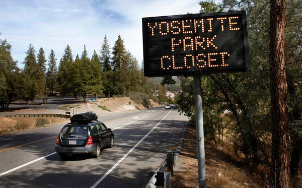 National parks could close if the government can't reach a spending plan to avoid a shutdown. (File photo)