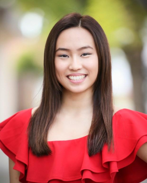 Miss Tustin 2018 contestant Anna Jiwu