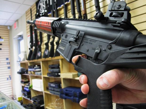 The Los Angeles County Board of Supervisors voted March 13 to explore options to regulate firearms, including restricting sales to anyone under 21, banning .50-caliber handguns, strengthening safe storage laws and prohibiting gun sales near schools (AP Photo/Allen Breed, File)