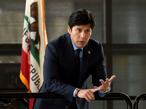 California State Senate Pro Tem Kevin de Leon