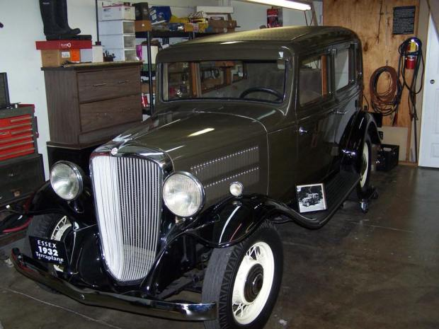 A rare car from 1932 was stolen from its storage site last week in Orange and police are trying to track it down. On Monday, police released surveillance footage from the area showing a truck they believe was involved in the theft.(Photo Courtesy of the Orange Police Department)