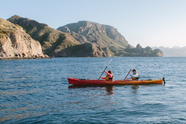 Kayaking expeditions take guests off the Uncruise ship.
