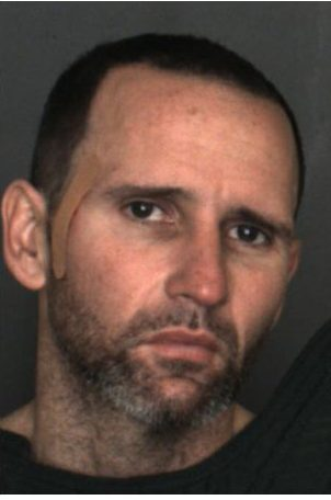 Mark Williams Ellis, 36, of Chino was arrested on suspicion of grand theft after he was found with six storage units full of items stolen dating back to 2006. (Courtesy San Bernardino County Sheriff's Department)
