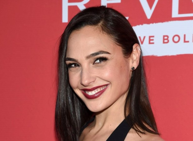 "Actress Gal Gadot attends Revlon's ""Live Boldly"" campaign launch event at Skylight Modern on Wednesday, Jan. 24, 2018, in New York. (Photo by Evan Agostini/Invision/AP)"