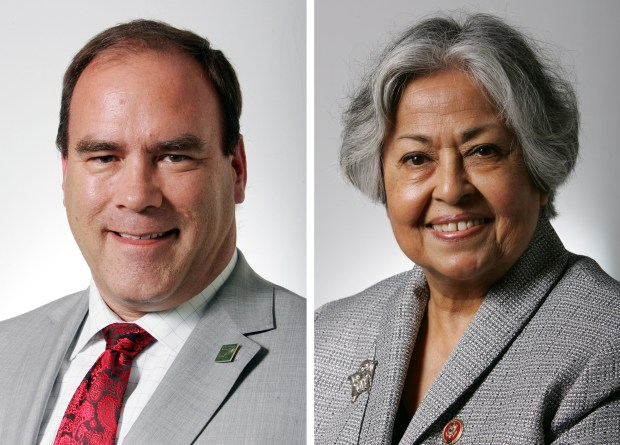 San Bernardino County Supervisor Curt Hagman and Gloria Negrete-McLeod will face off in the June 5th Primary for the Fourth District supervisor's seat. McLeod was defeated by Hagman in the 2014 election.