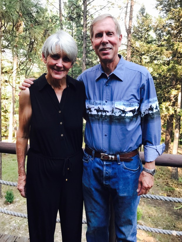 Dr. John Longhurst and his wife Cherril, died Tuesday, Feb. 6 in a plane crash in Santee (Courtesy of UC Irvine)