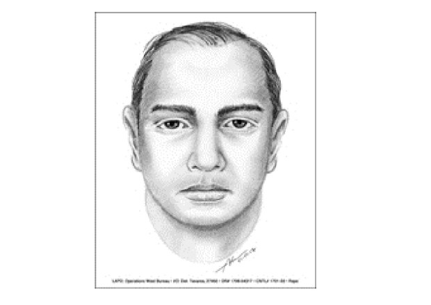 Los Angeles police in May 2017 released a sketch of a suspect in an attack on a woman in Hollywood who got in a car she believed was her driver with a ride-hailing app on Jan. 7, 2017. (Photo by Los Angeles Police Department)