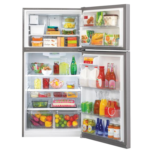 Save more than $100 on an LG refrigerator at Sears over Presidents' Day weekend. (Photo courtesy of Sears).