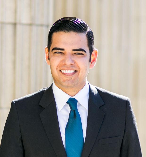 Long Beach Mayor Robert Garcia