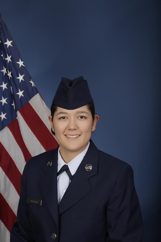 U.S. Air Force Airman Chayse M. Herrera (Photo courtesy of U.S. Air Force)