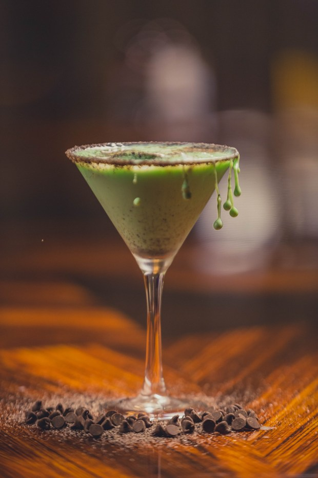 The shamrock martini is offered at various bars at Pechanga Resort & Casino, March 15-18. (Courtesy of Pechanga Resort & Casino)