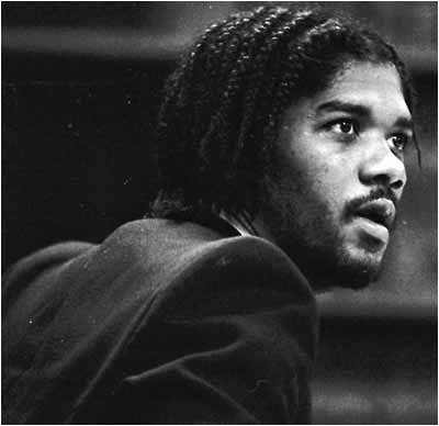 Kevin Cooper listens during his preliminary hearing in Ontario in November 1983 for the murders in Chino Hills in June of 1983. (Staff file photo by Walter Richard Weis, Inland Valley Daily Bulletin/SCNG)