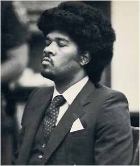 Kevin Cooper listens as a judge sentences him to the death penalty in 1985. Cooper was convicted of murdering the Ryen family and a neighbor and attempted murder of the Ryen son in Chino Hills in 1983. (Staff file photo by Walter Richard Weis, Inland Valley Daily Bulletin/SCNG)