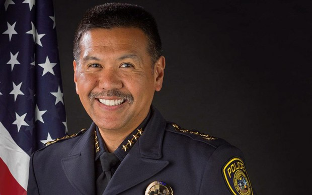 Raymund Aguirre took over March 1 as police chief for Cal State Fullerton after a nationwide search. (Photo courtesy of Cal State Fullerton)