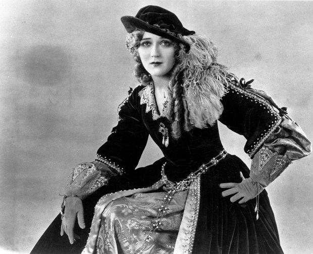 "An undated photo of actress Mary Pickford in ""Dorothy Vernon of Haddon Hall."" (AP Photo)"