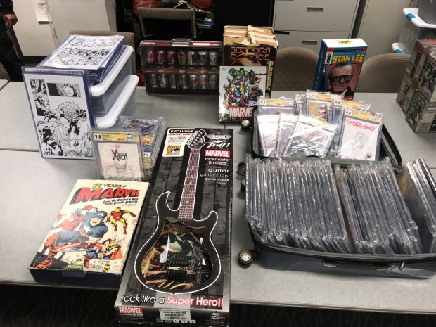 These items were recovered during a theft investigation in Rancho Cucamonga. (Courtesy)