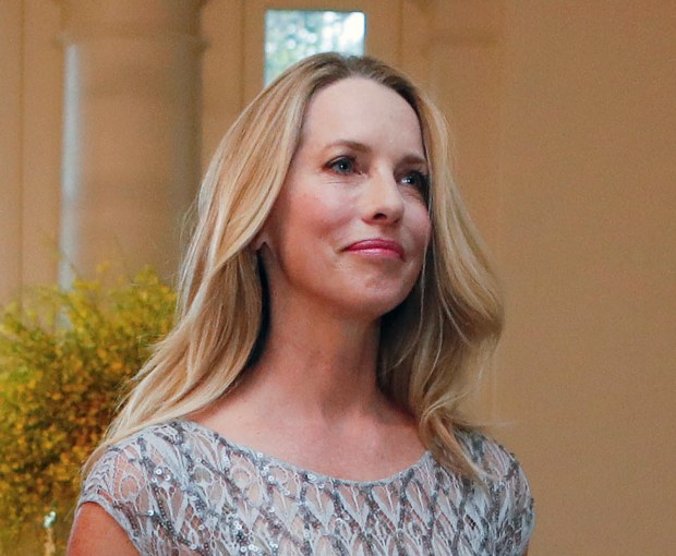 An IRS filing shows trusts linked to Laurene Powell Jobs, the widow of Steve Jobs with significant stakes in Apple and Walt Disney, gave $526 million to the Goldman Sachs Philanthropy Fund. (AP Photo/Pablo Martinez Monsivais)