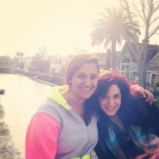 Negah Nafisi, left, and Soha Eshraghi hang out in Berkeley. (Photo courtesy of Soha Eshraghi)