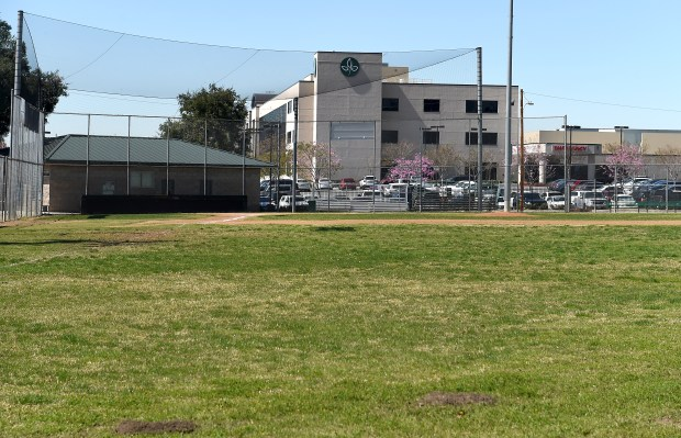 The 4.6 acre parcel east of San Antonio Regional Hospital at Memorial Park in Upland, CA., Wednesday, March 28, 2018. (Staff photo by Jennifer Cappuccio Maher, Inland Valley Daily Bulletin/SCNG)