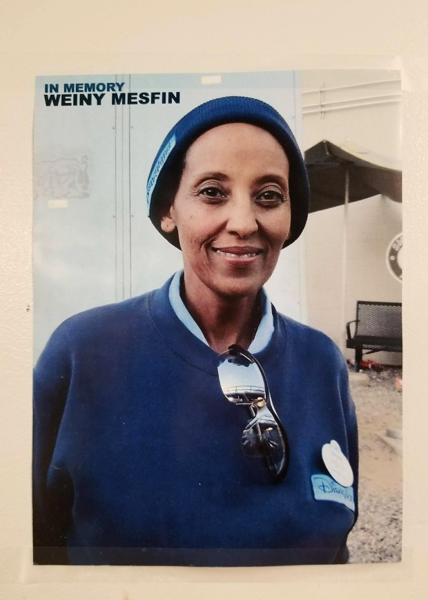 "Yeweinishet ""Weini"" Mesfin was homeless and living out of her car, a secret she kept from family and friends. She died in her car in late 2016 and it took 20 days to discover her body. (Photo courtesy of Vanessa Muñoz Diaz)"