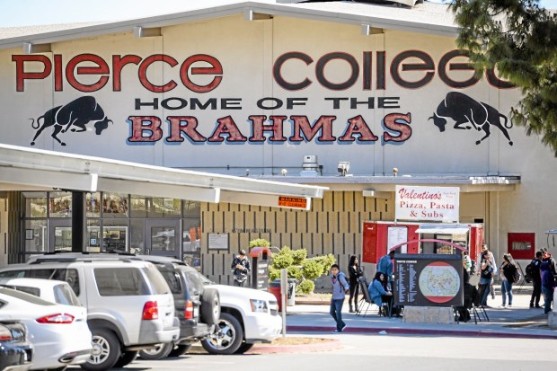 Pierce College trumped every community college in its Los Angeles district, for the rate in which its students graduate or transfer, according to a performance scorecard of statewide community colleges released Tuesday. Photo by David Crane/Staff Photographer