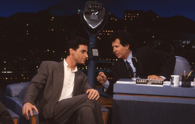 Bob Saget, Garry Shandling.photo: Bernard Fallon/HBO