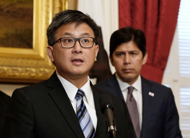 State Treasurer John Chiang. (AP file)