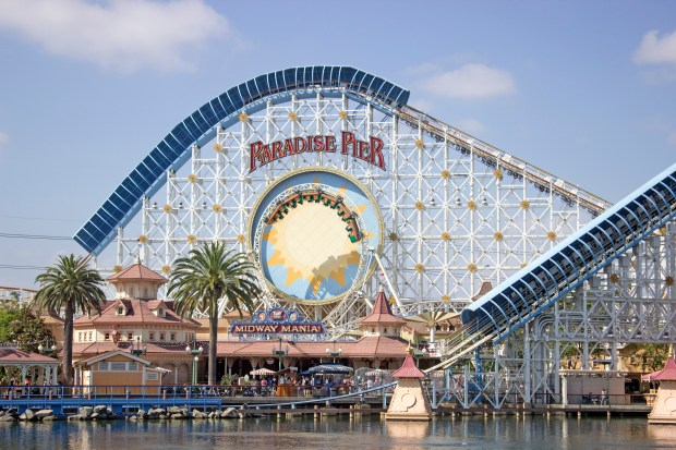 California Screamin' the top amusement park ride for Best of Orange County 2016.Photo by: MARK EADES, STAFF PHOTOGRAPHER